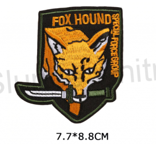 Nášivka Fox Hound Speciál Force Group (C249)